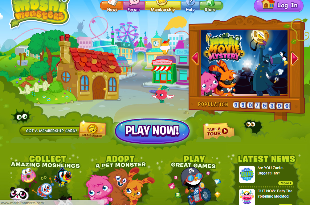 Moshi Monsters Topgamessite Com